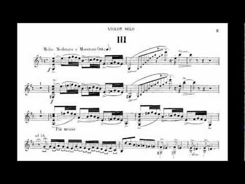 Saint-Saëns, Camille violin concerto no.3 mvt3