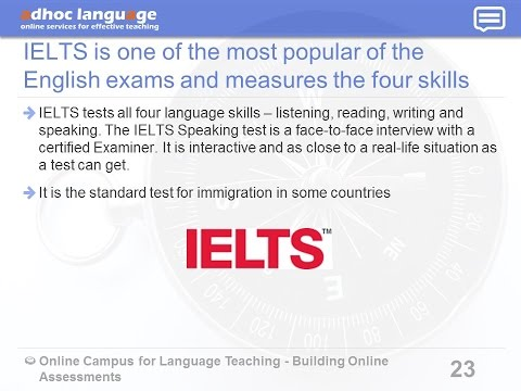 """Webinar """"How to create a practice for an official language exam"""""""