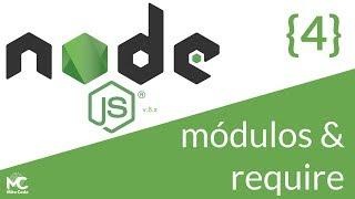 Node.js Tutorial - 4 Módulos y require