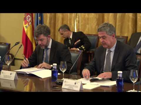 SS.MM. los Reyes presiden el Pleno del Real Patronato de la Biblioteca Nacional de España