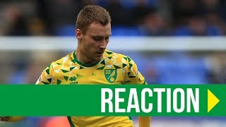 Bolton Wanderers 0-4 Norwich City: Tom Trybull Reaction