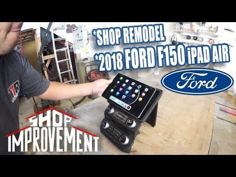 10.5 IPad AIR! Rafa's Latest IPad Install - Shop Improvement Episode 10