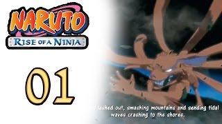 NARUTO: Rise Of a Ninja - Naruto o Próximo Hokage a Lenda Ninja - Gameplay lets play