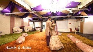 Aamir & Aisha Walima Highlights - Pal | Arijit Singh | Shreya Ghoshal | Rhea & Varun Javed - Mohsin