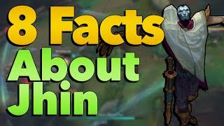 8 Facts You Might Not Know About Jhin | League of Legends