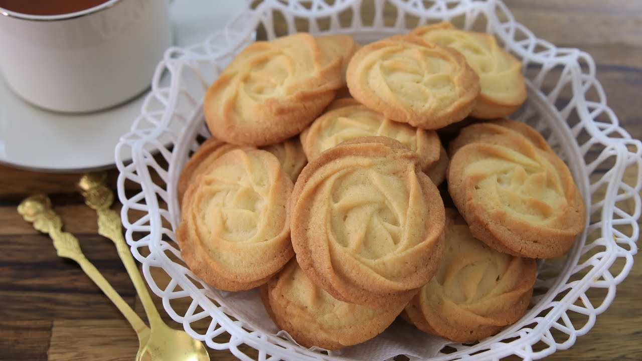 Melt in Your Mouth Butter Cookies Recipe