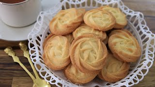 Butter Cookies Recipe | How to Make Butter cookies