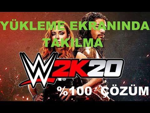 WWE 2K20 CODEX Endless Loading / Infinite Loading Screen Stuck Freeze Fix Solution