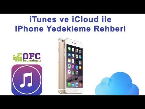 iCLOUD ve iTUNES İLE iPHONE (IOS) YEDEKLEME REHBERİ
