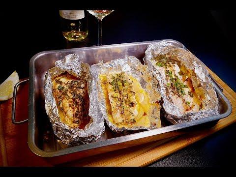 fisch-in-alufolie-gebacken-mit-weißwein,-zitrone-und-thymian---episode-24---baked-fish-in-foil