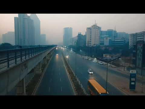 Gurgaon Mornings | Golf Course Road Gurgaon| DLF Phase 5 | Nearby American Express | #ShutterUpYuvi
