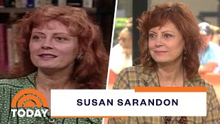 Susan Sarandon On Filming 'Thelma & Louise,' Pingpong And 'Feud' | Today
