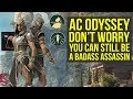 Assassin's Creed Odyssey Stealth Gameplay, Legacy Outfit Info & More! (AC Odyssey)