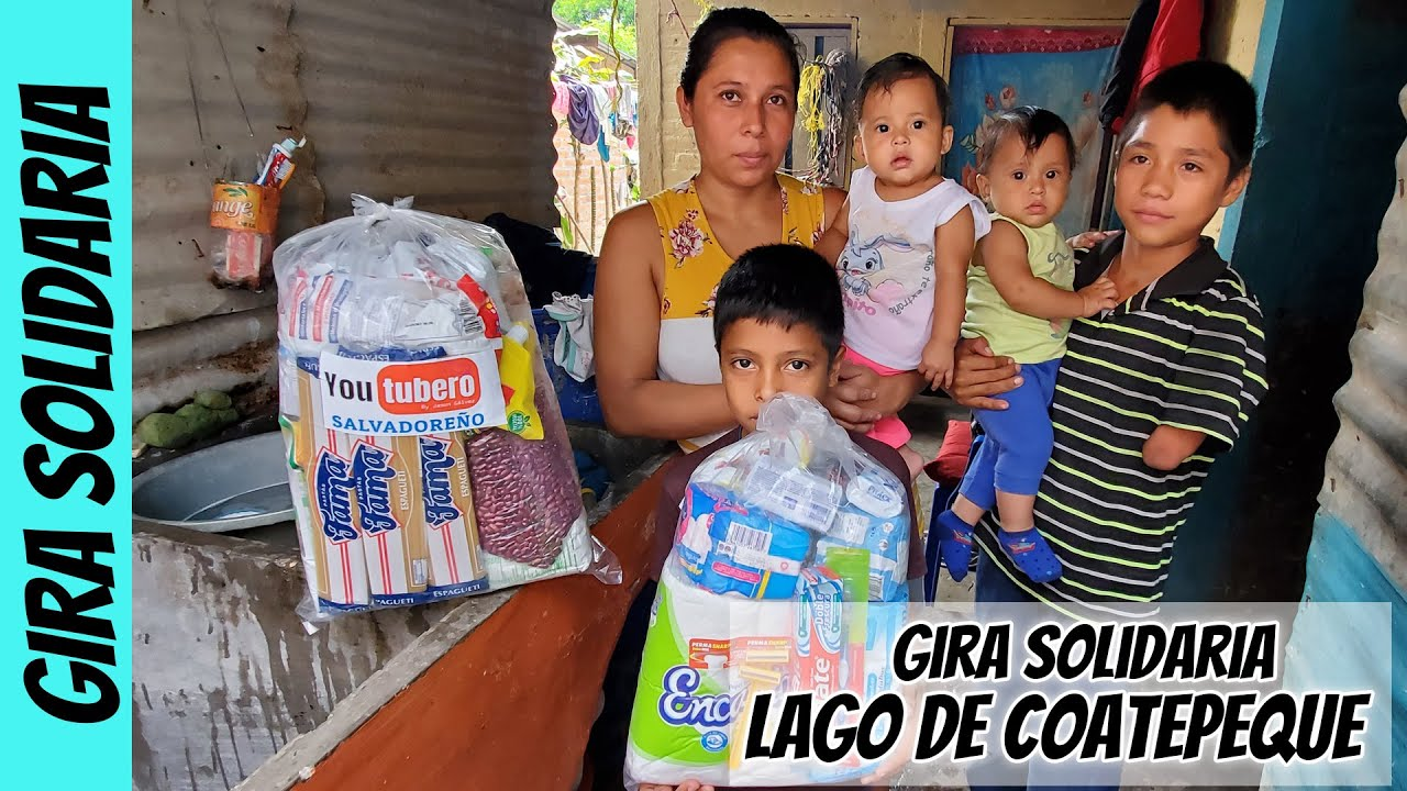 Visitamos a la mama de Josue el niño del Lago | Gira 5 | Youtubero Salvadoreño