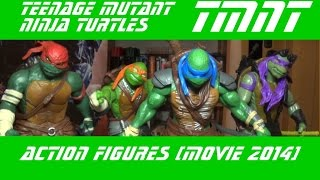 TMNT Черепашки Ниндзя (action figures) - Фигурки по фильму 2014 (movie)