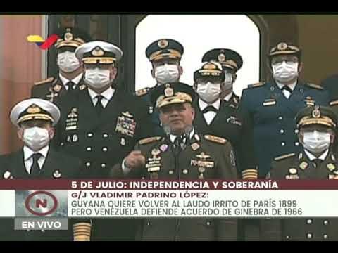 ¿Dijo Vladimir Padrino que la oposición jamás será un poder político en Venezuela? Juzgue usted