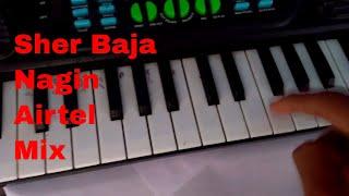 Tiger Pad/ Sher Baja Nagin & Airtel Mix Exclusive. Tutorial.✔😍✔