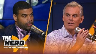 Shawne Merriman: Cowboys have 'contract negotiation leverage' over Ezekiel Elliott | NFL | THE HERD