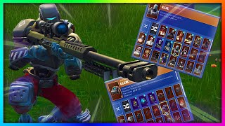 "Before You Grind ""A.I.M."" - All Skins and Back Bling Combinations in Fortnite (HUNTING PARTY REWARD)"