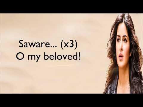 Saware Full Song Arijit Singh Lyrics With English Translation Phantom   YouTube