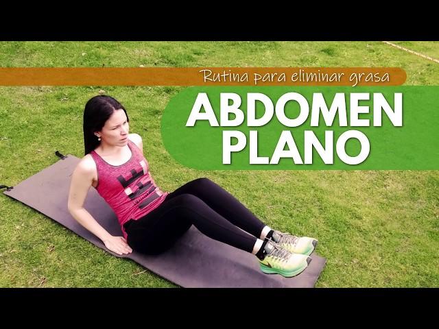 Rutina de ejercicios para un abdomen plano en poco tiempo