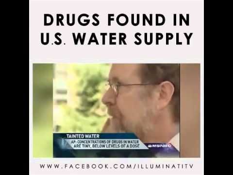 WOW!! Pharmaceuticals found in US Water Supply!