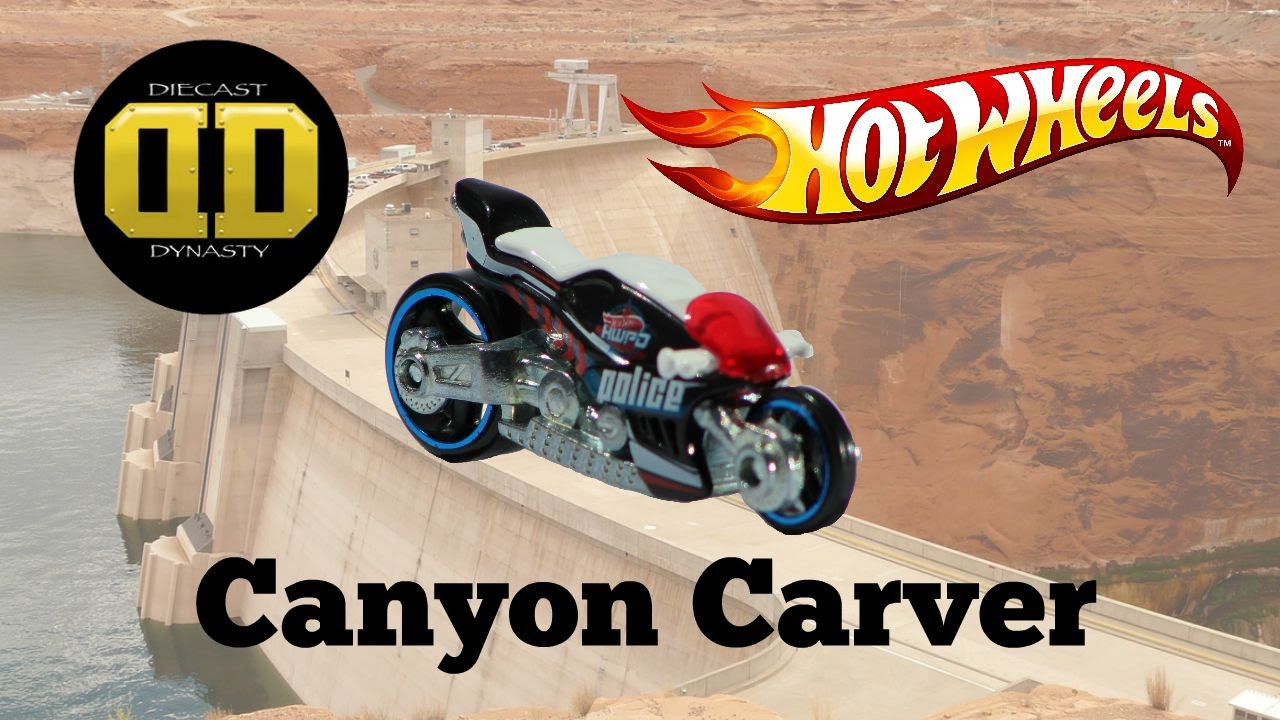 Hw hot wheels 2015 hw city 48 250 canyon carver police motorcycle - Hot Wheels Canyon Carver Motorcycle Unboxing Review And Test Drive Youtube