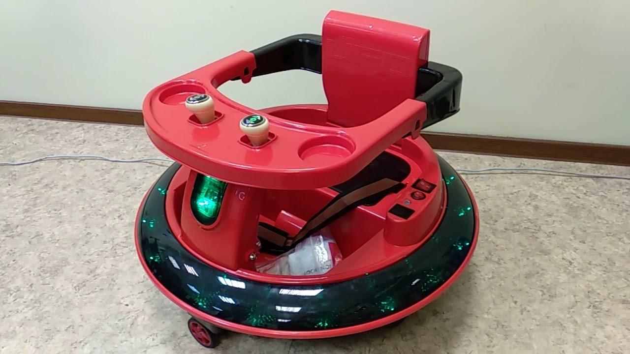 Космическая тарелка электромобиль для малышей детей от 1 ...