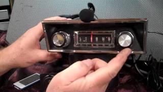 1967 Ford F100 Pickup original AM radio
