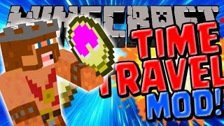 Minecraft | TIME TRAVEL MOD | Minecraft Mods Review (Minecraft 0.10.4)