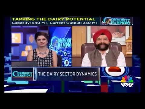 Commodity Champions | Outlook On Dairy Sector | Full Episode | CNBC TV18