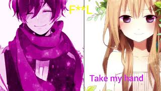 Nightcore all about us (Switching vocals)