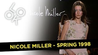 Nicole Miller Spring 1998: Fashion Flashback