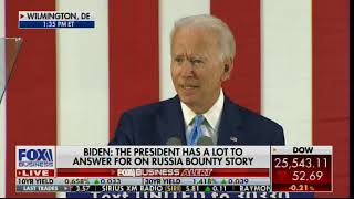 Joe Biden: I'm Going to Follow the Doc's Orders, I Will Not Hold Any Rallies