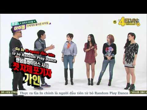 [Vietsub] 151111 Weekly Idol - Brown Eyed Girls (FULL)