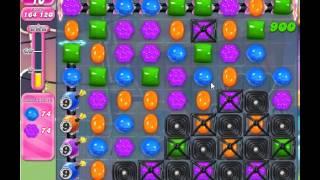 candy crush saga level 555 - no booster