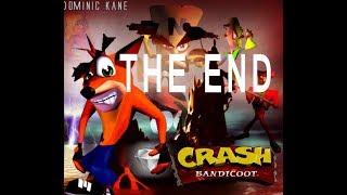 crash bandicoot 1 the end تختيم لعبة كراش الجزء الاول الشفرة النهايه