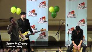 Scotty McCreery Plays Cat Country 98.1's Father-Daughter Dance