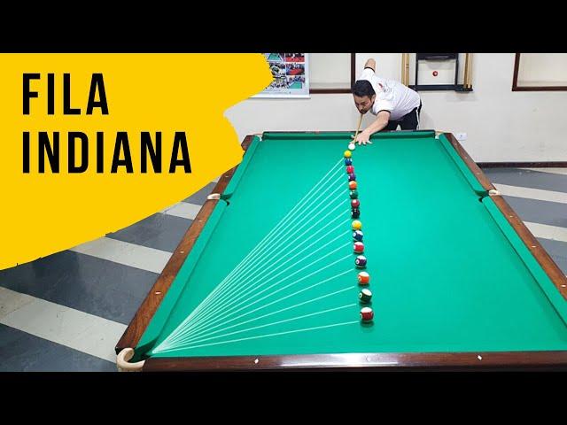 A Verdadeira Fila Indiana  - O melhor treinamento para controle de bola
