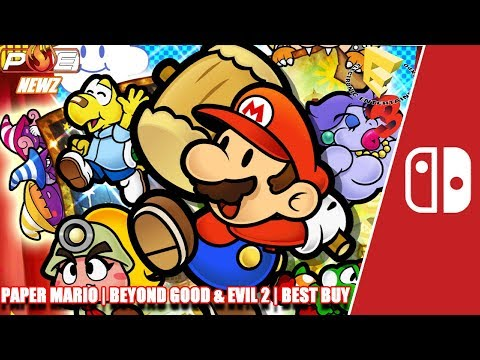 E3 2017: Paper Mario TTYD Sequel? Best Buy Surges Cause Switch + Beyond Good & Evil 2! | PE NewZ