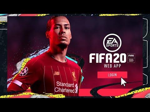 fifa 20 web app - 4 часа