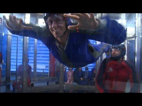 iFly Orlando indoor skydiving mimics flying