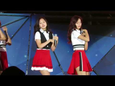 170915 Twice 2017 Lotte Duty Free Family Festival Seoul -KNOCK KNOCK 트와이스(Fancam)