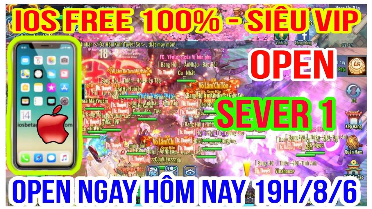 VLTK Mobile Lậu tải cho Iphone IOS Free 100% Open S1 Hôm Nay – Võ Lâm Viêm Đế