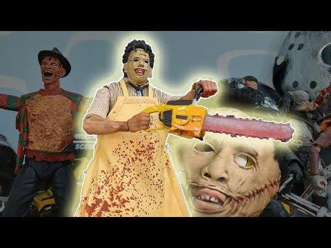 Фигурка Кожаное лицо из фильма Техасская резня бензопилой