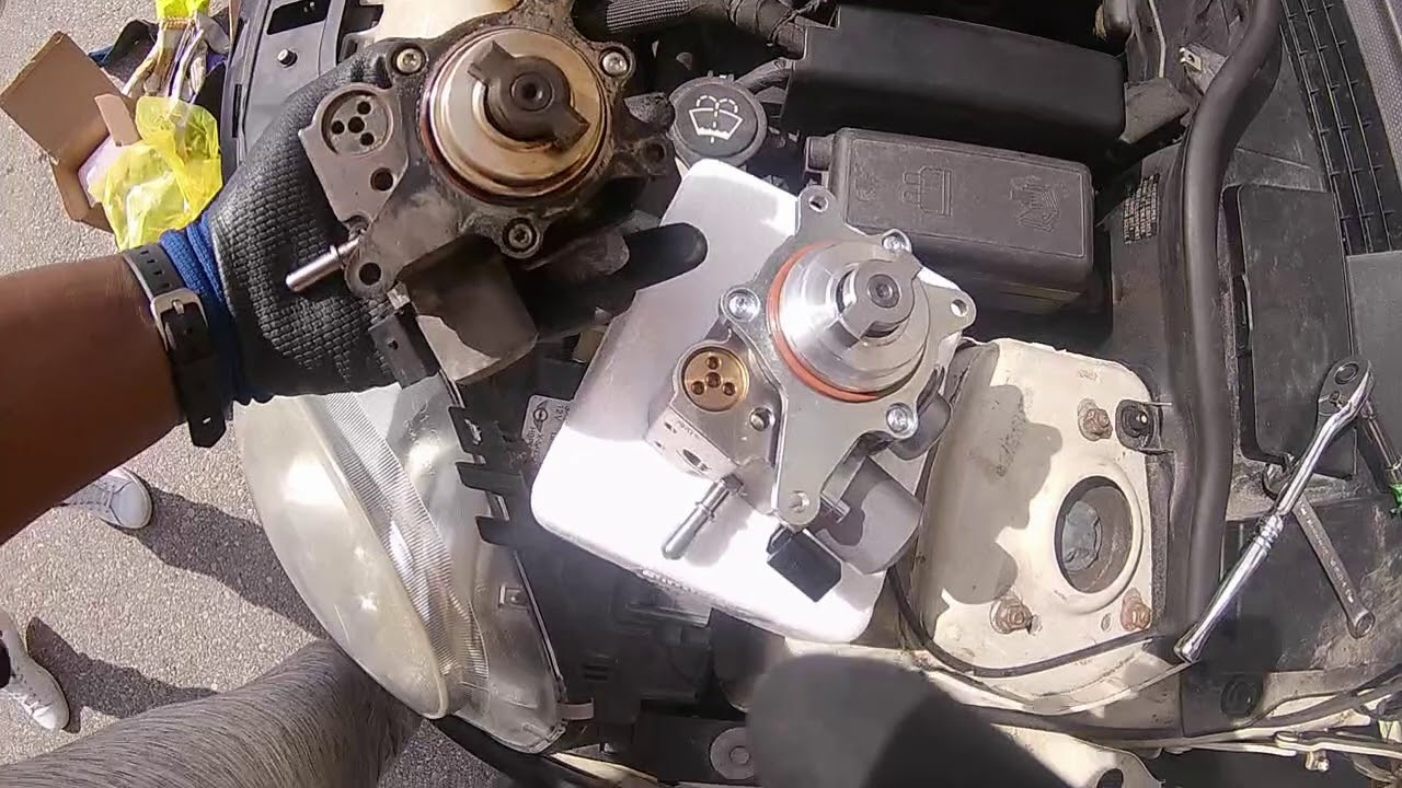 DIY Mini Cooper S High Pressure Fuel Pump
