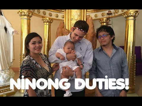 BECOMING A GODFATHER IN THE PHILIPPINES (My Filipino Manongs)