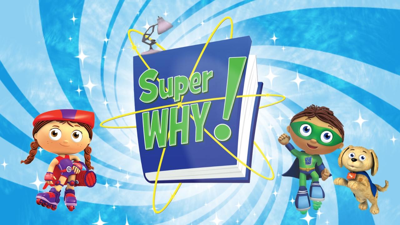 Printable Super Why Logo