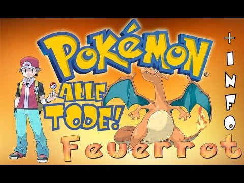alle tode info pokemon feuerrot nuzlocke german deutsch youtube. Black Bedroom Furniture Sets. Home Design Ideas