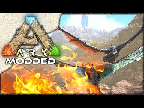 MODDED ARK: Scorched Earth ~ Ep 13 ~ HOW TO TRAIN YOUR WYVERN! ;)